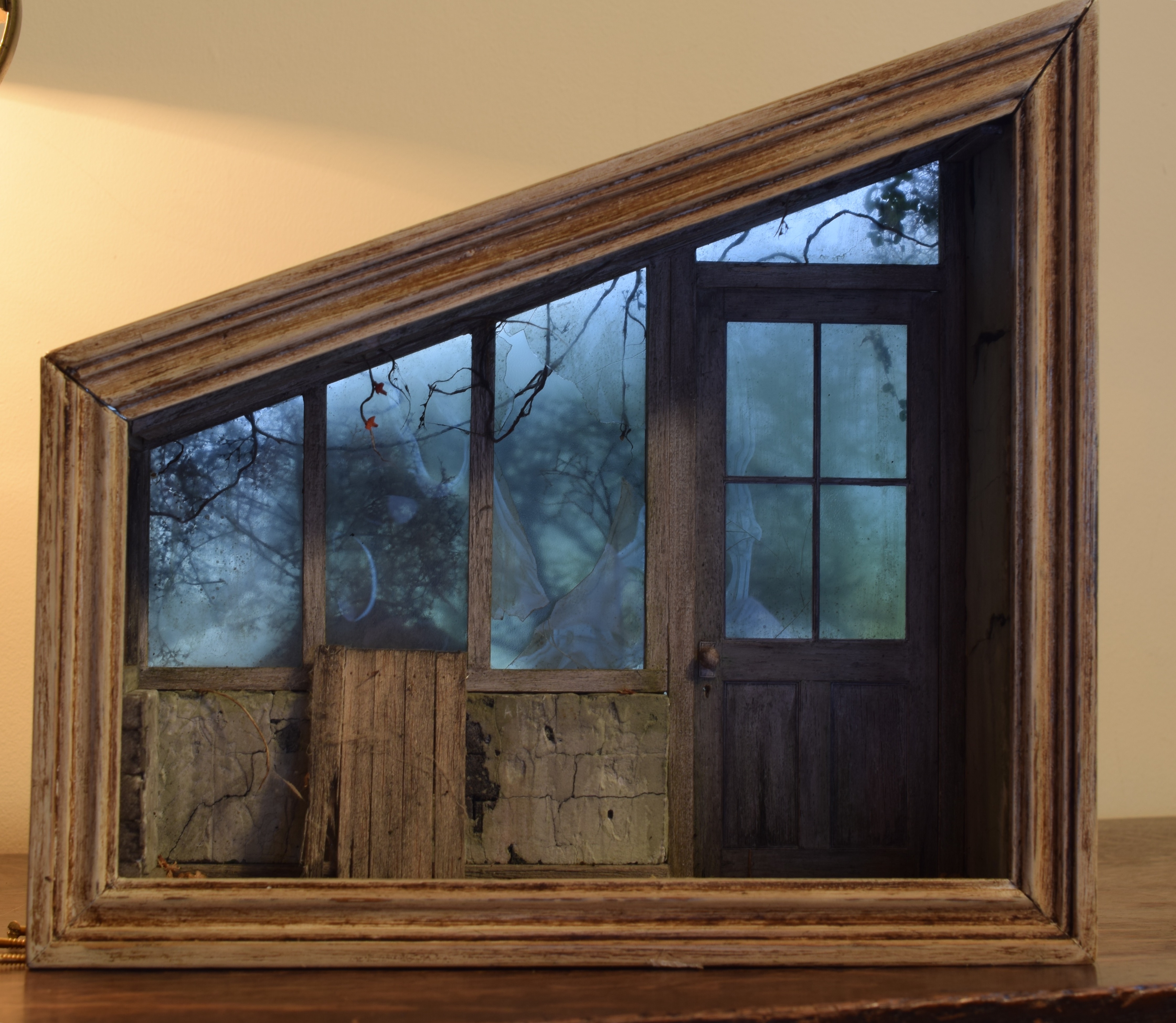 Derelict Greenhouse Shadow Box & Shadow Boxes - AndyAcres Model Maker Aboutintivar.Com